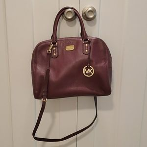 Preowned purple Michael Kors handbag